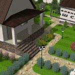 визуализация ландшафтного проекта vik14
