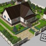визуализация ландшафтного проекта vik16