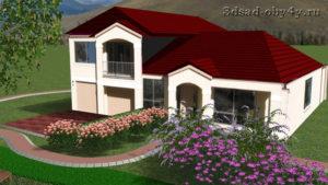 3D модель здания из фотографии