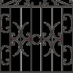 текстура Забор металлический