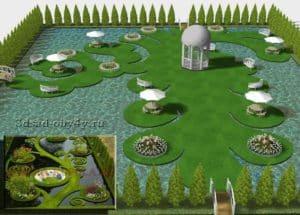 визуализация зоны отдыха на воде