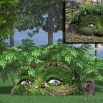 визуализация образа лесной скульптуры