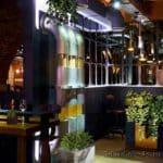 фито дизайн зала ресторана