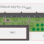 план парка придомовой территории
